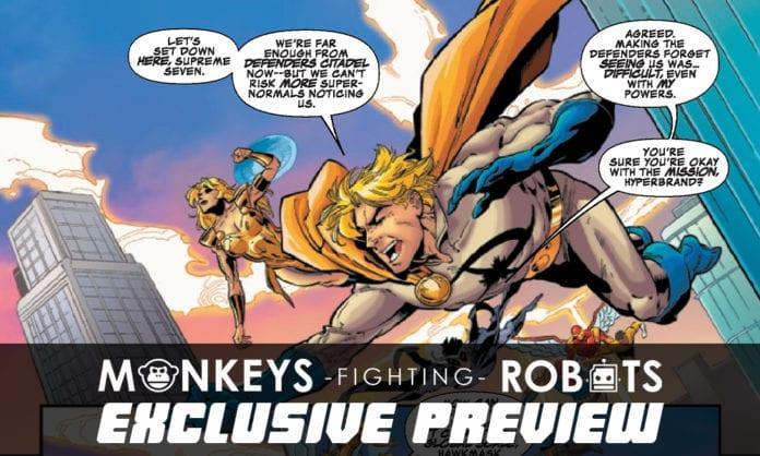 Exclusive Marvel Comics Preview- SECRET WARPS ARACHKNIGHT ANNUAL #1