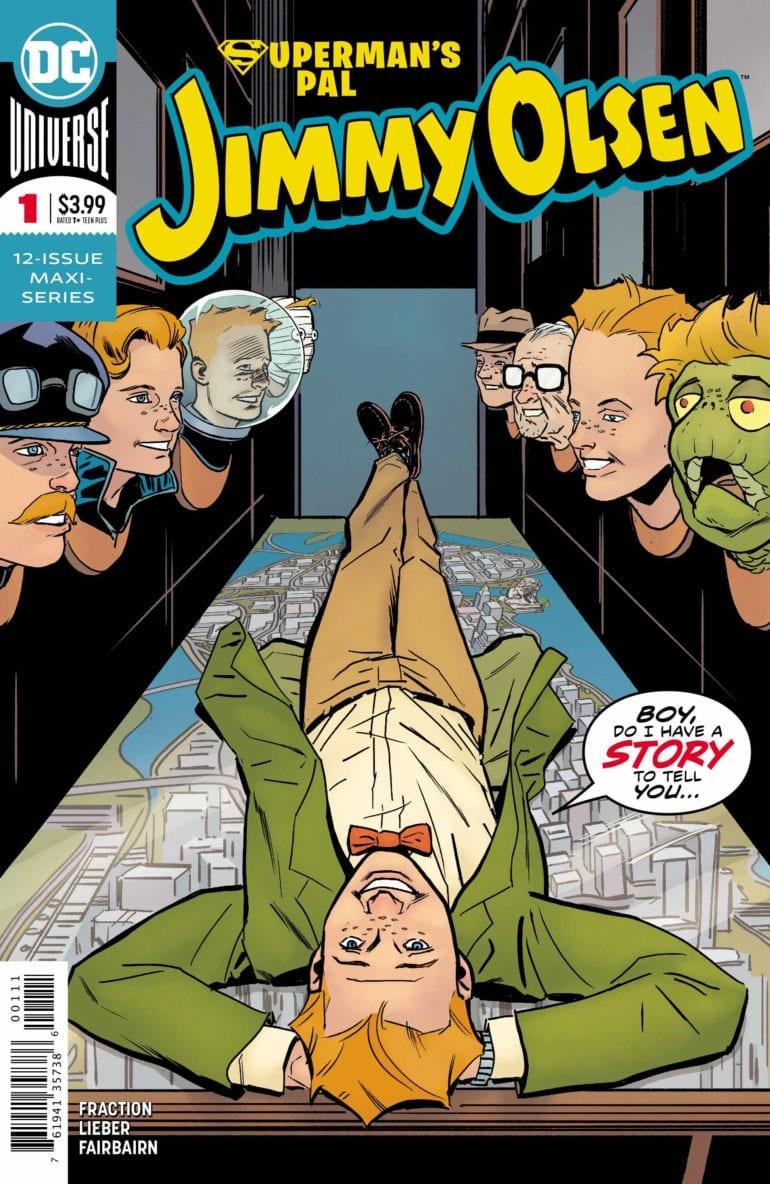 Jimmy Olsen 1 cover