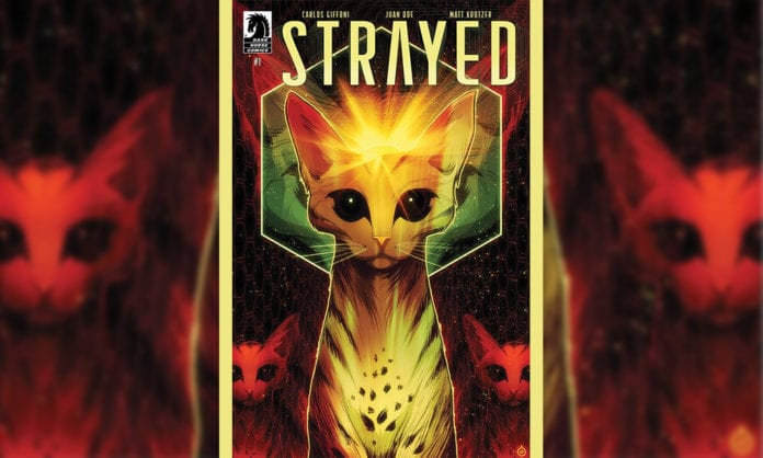 Review: STRAYED #1- Luckily Cats Have 9 Lives...