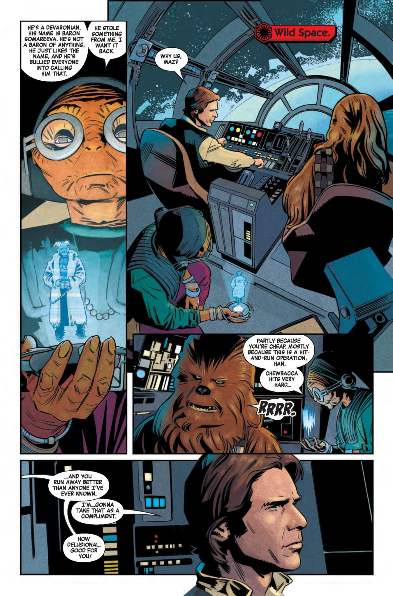 Marvel Comics Preview: STAR WARS AGE OF RESISTANCE SPECIAL #1 2