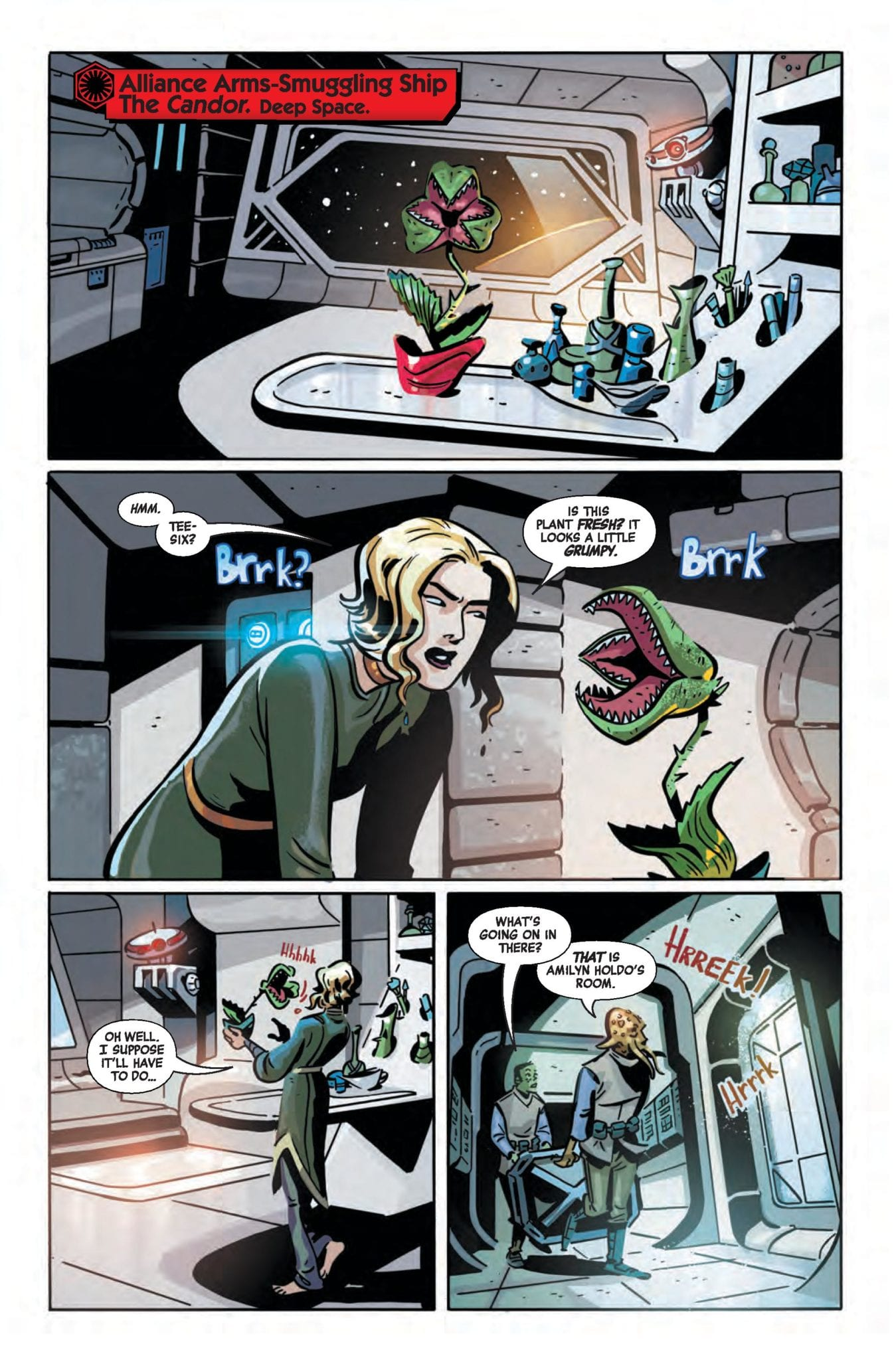 Marvel Comics Preview: STAR WARS AGE OF RESISTANCE SPECIAL #1 4
