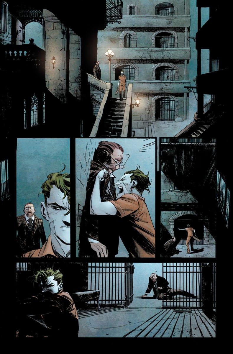 Joker Escapes Arkham