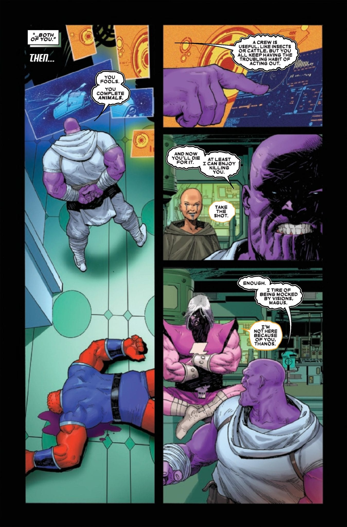 Marvel Comics Preview: THANOS #4 (OF 6) 5
