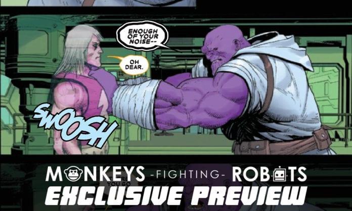 Marvel Comics Preview- THANOS #4