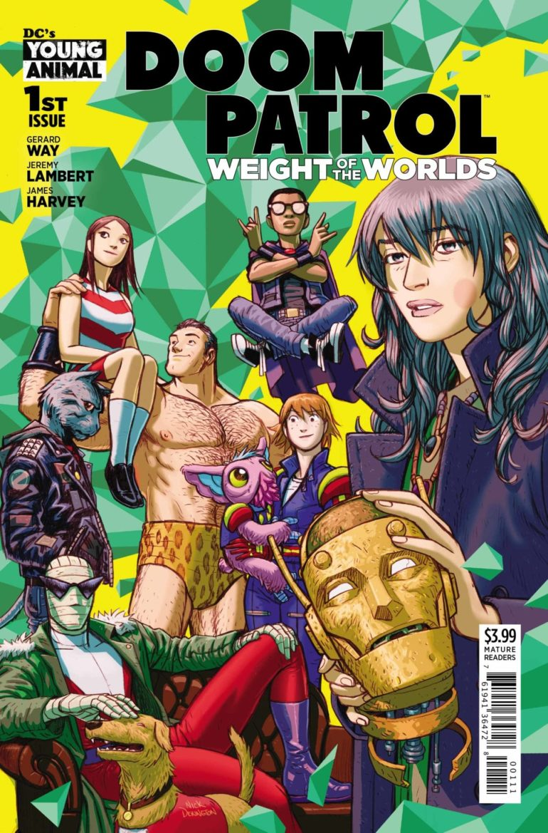 Doom Patrol Weight of the Worlds 1 cover