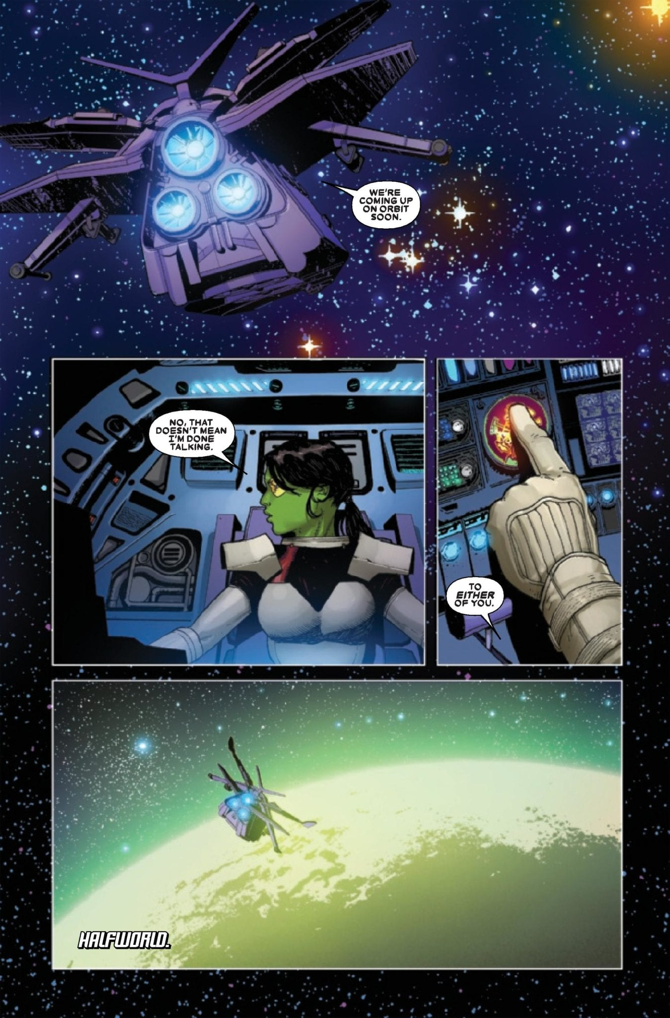 Marvel Comics Preview: THANOS #4 (OF 6) 3