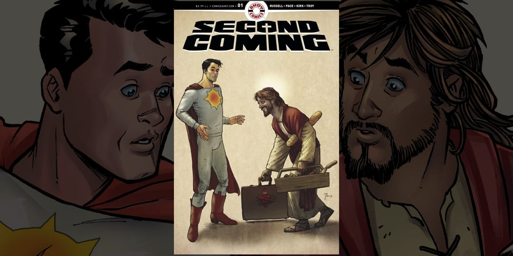Interview: Mark Russell Talks The SECOND COMING Of Jesus Christ In