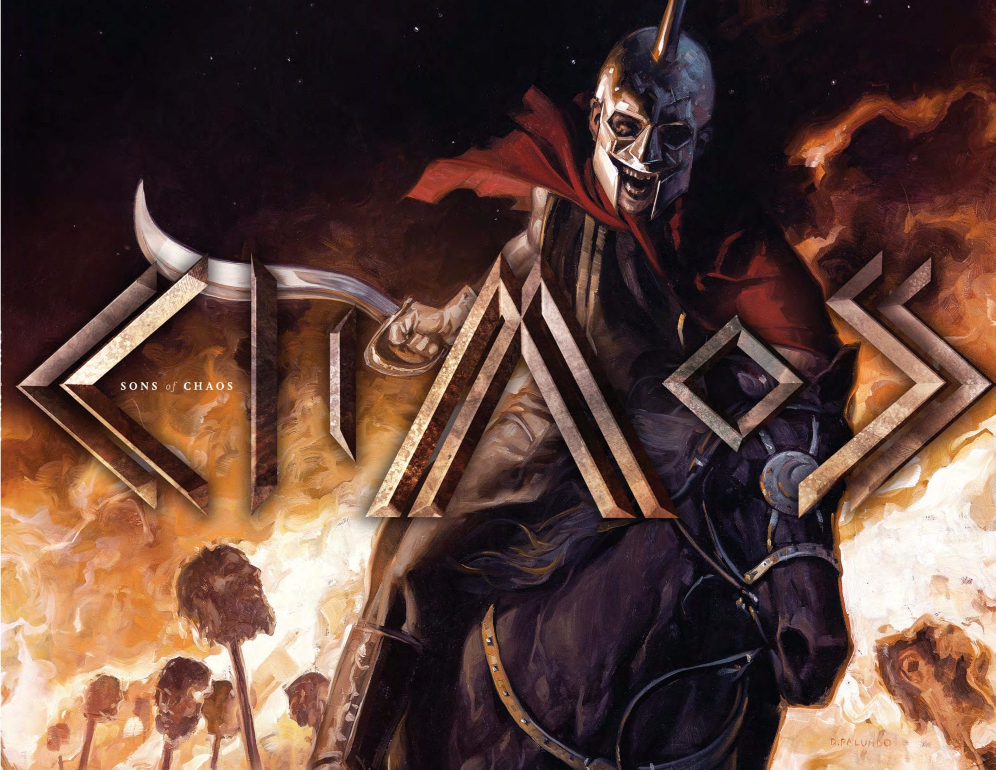 30+ Page Preview Of IDW's SONS OF CHAOS From Chris Jaymes And Alejandro Aragon