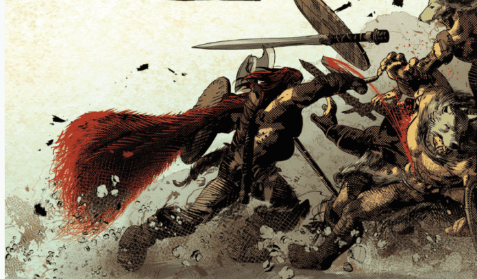Review: BERSERKER UNBOUND #1 - Bloody Heads Will Roll (And Arms And Legs...) 9