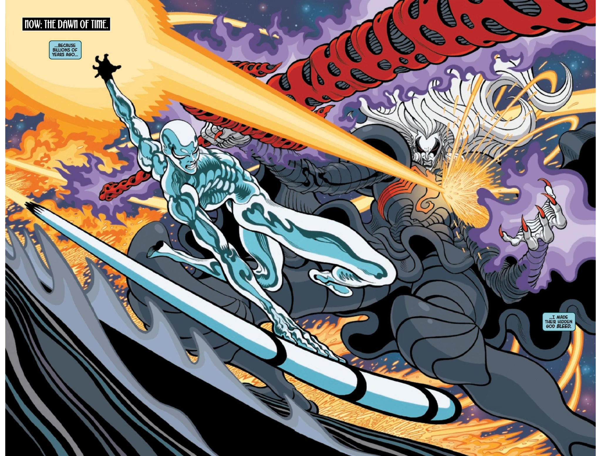 Exclusive Marvel Comics Preview: SILVER SURFER BLACK #2 (OF 5)