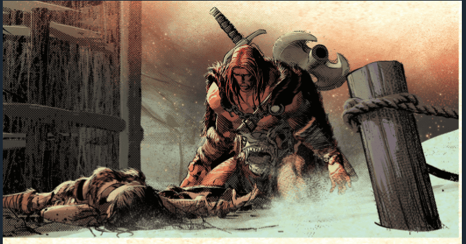 Review: BERSERKER UNBOUND #1 - Bloody Heads Will Roll (And Arms And Legs...) 3