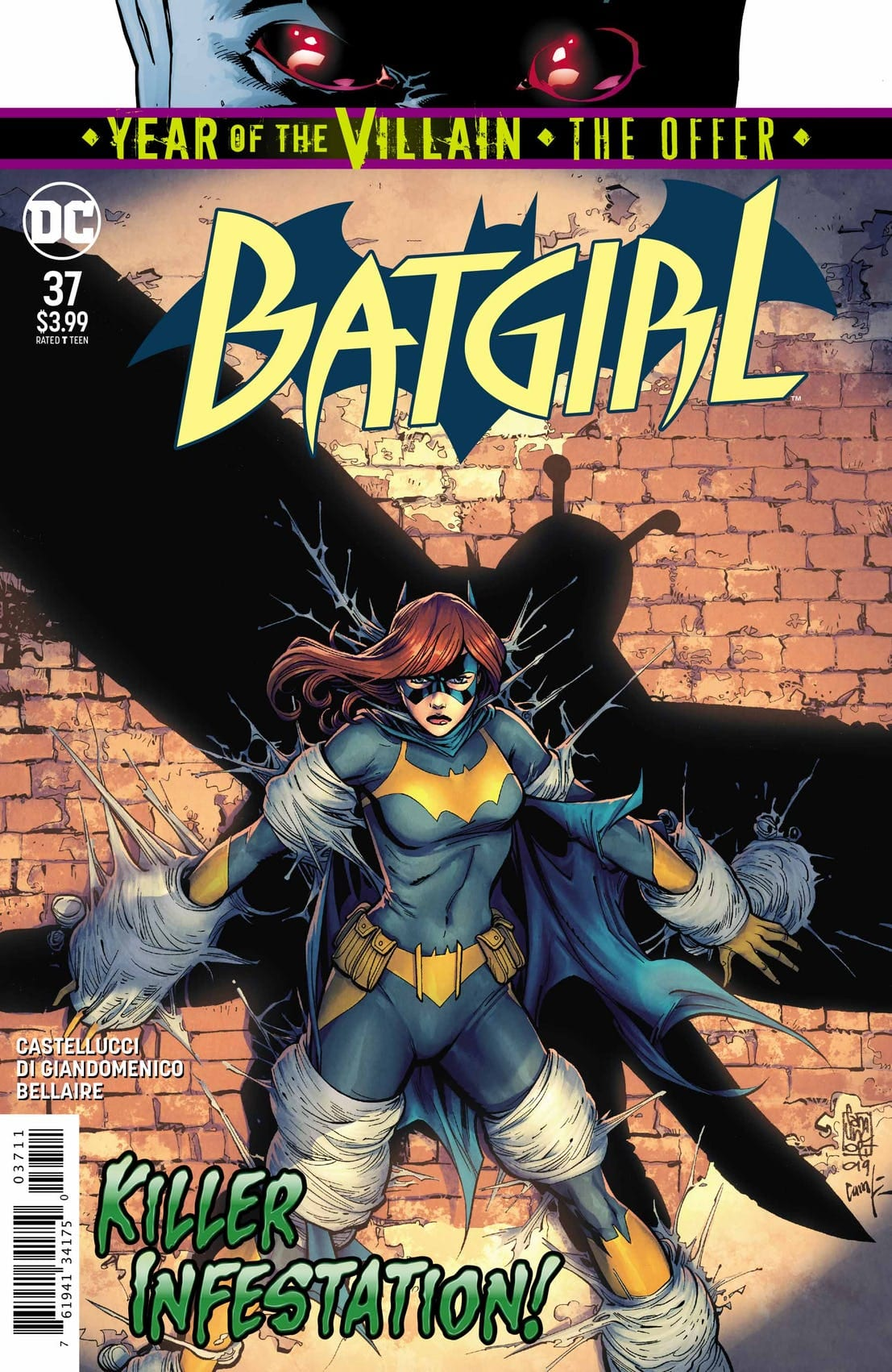 Batgirl 37 Cover