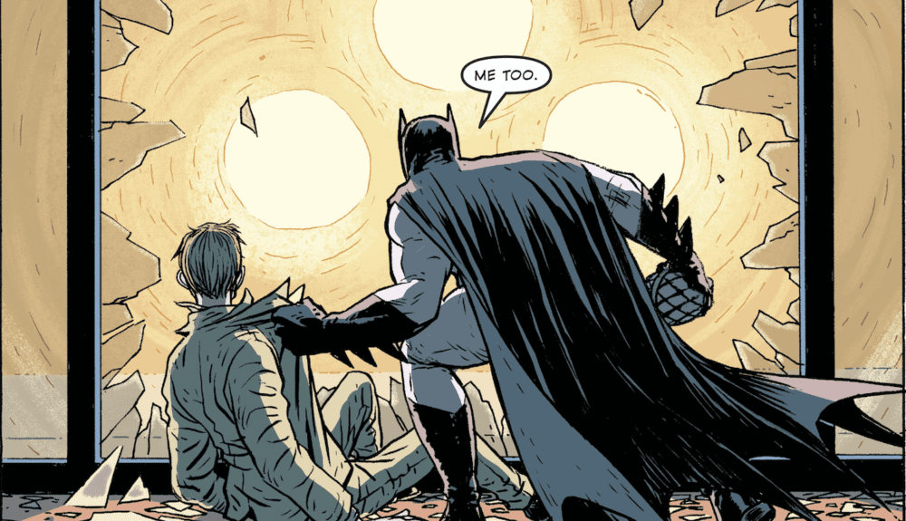 Review: Bendis boldly takes on the Dark Knight in BATMAN UNIVERSE #1