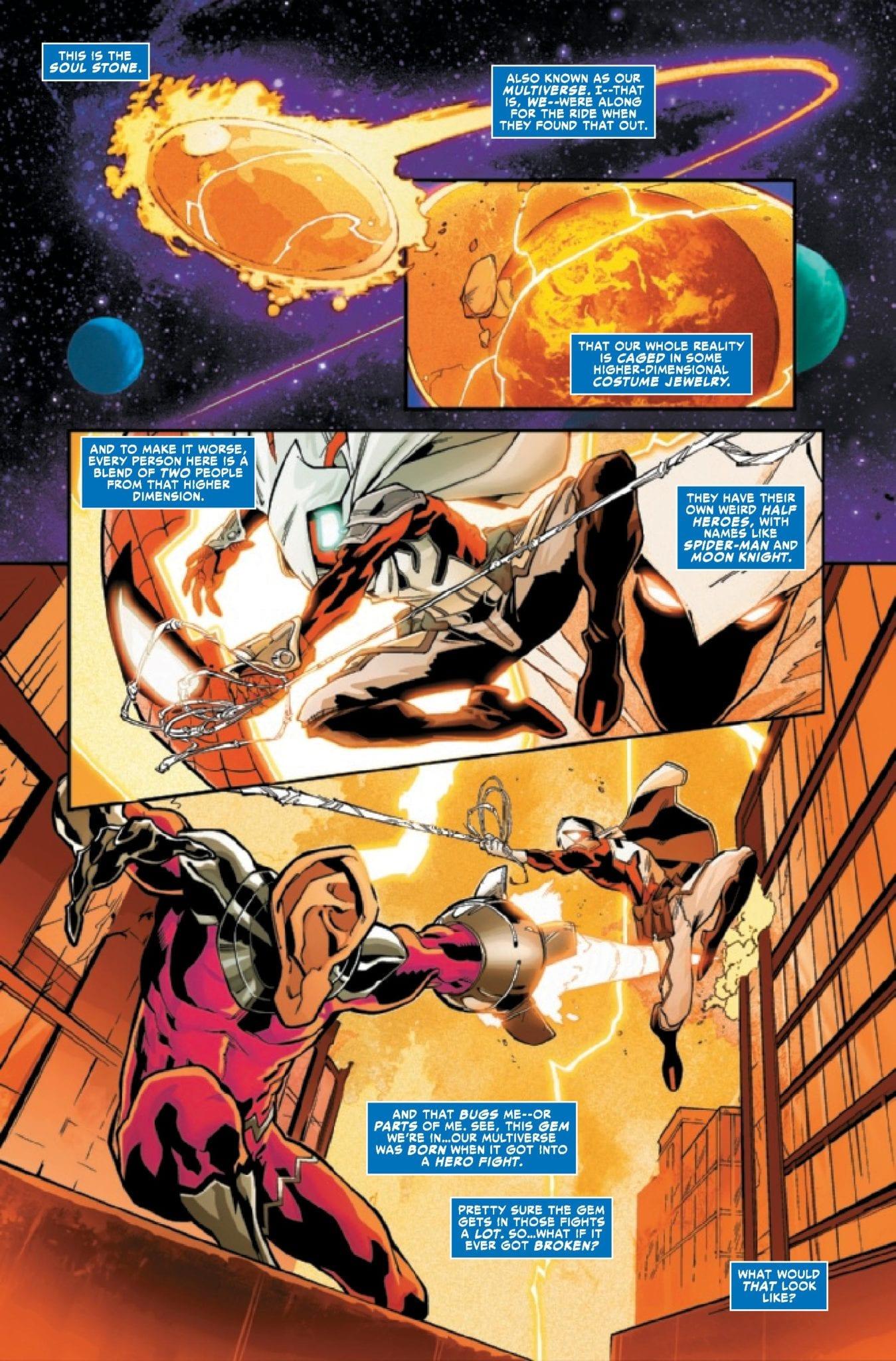 Exclusive Marvel Comics Preview: SECRET WARPS ARACHKNIGHT ANNUAL #1
