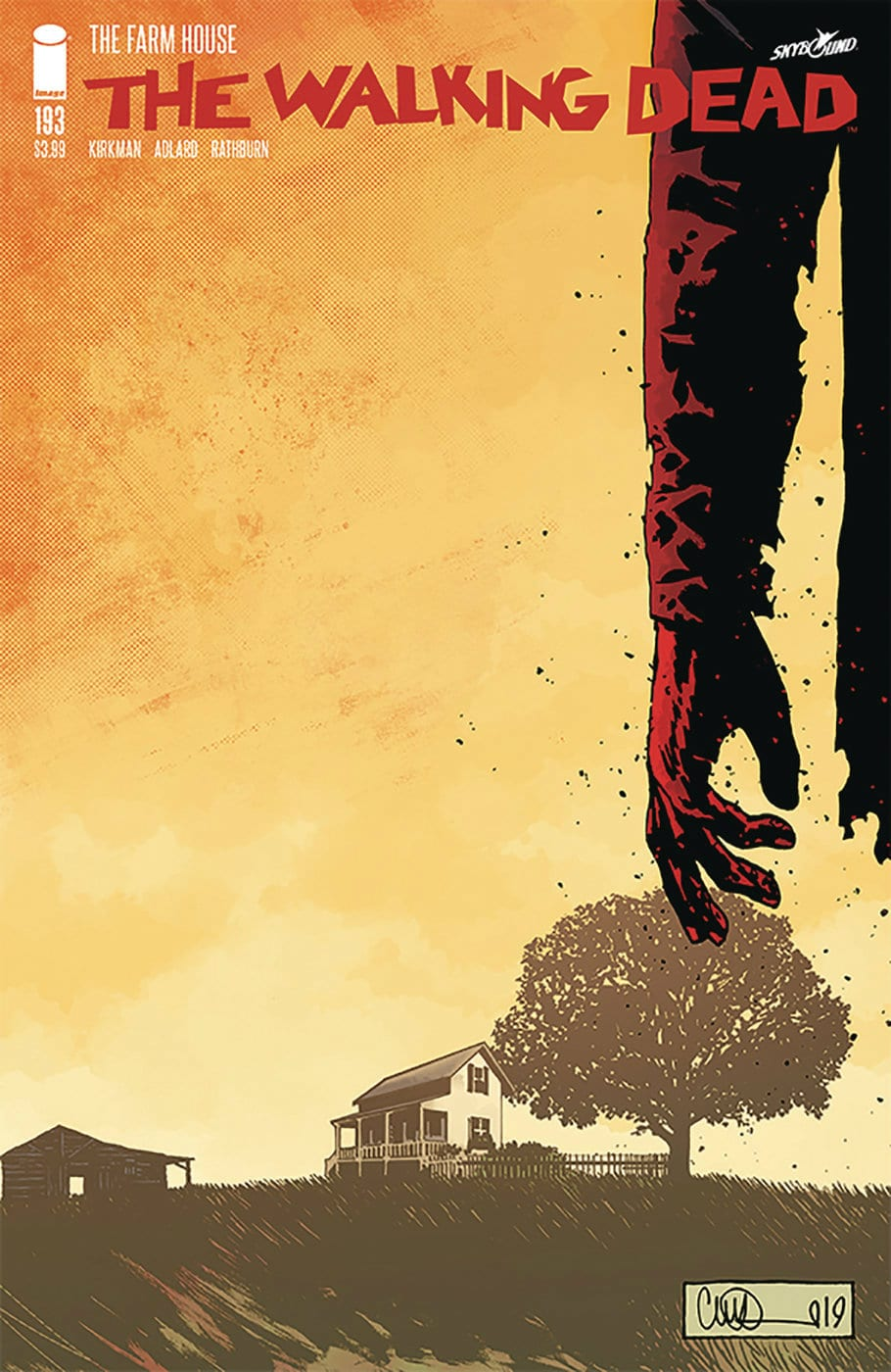 the waking dead 193 cover