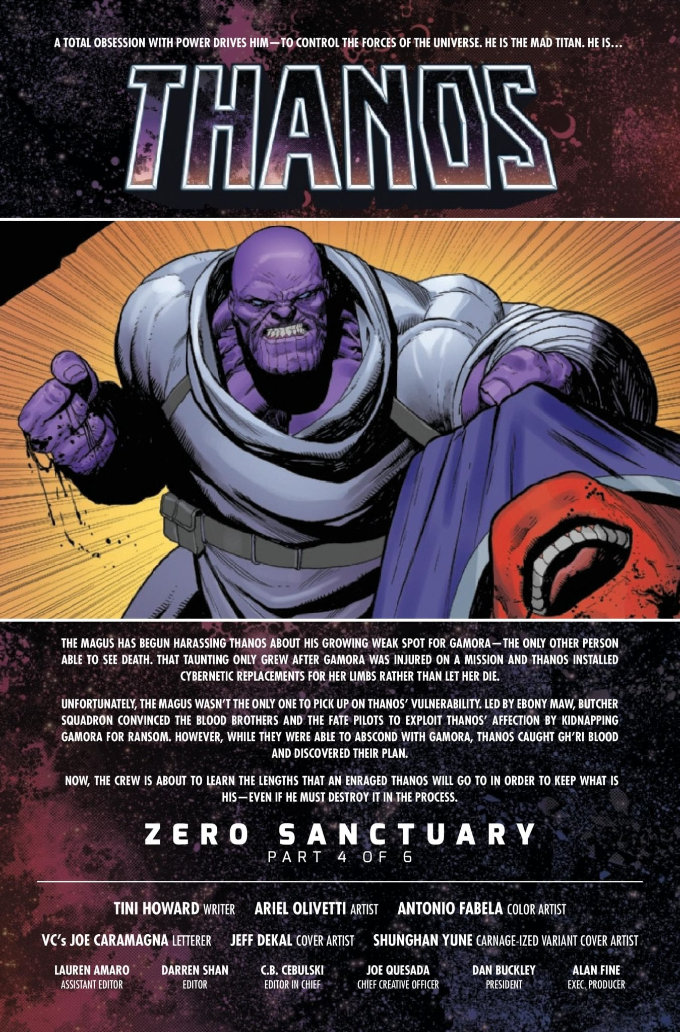 Marvel Comics Preview: THANOS #4 (OF 6) 2