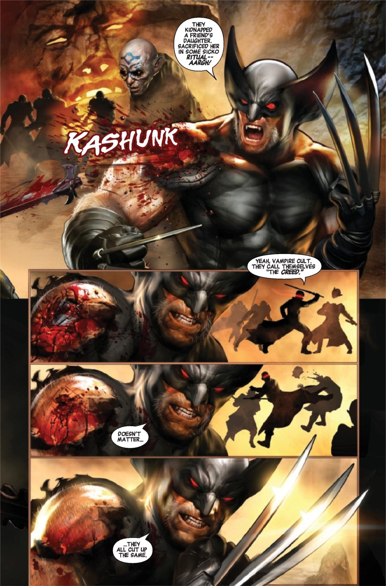 wolverine vs blade special marvel comics exclusive preview