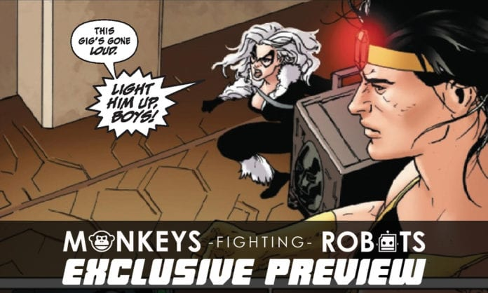 Exclusive Marvel Comics Preview: BLACK CAT #3 Destroys Silvers Sable's Rep