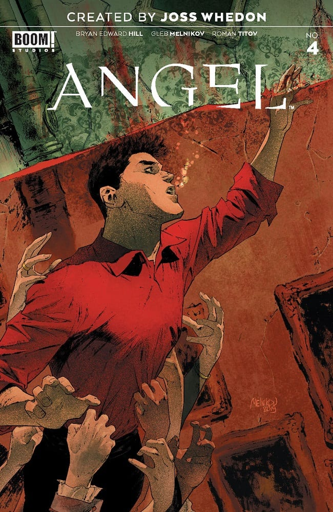 A Hero In Hell In ANGEL #4