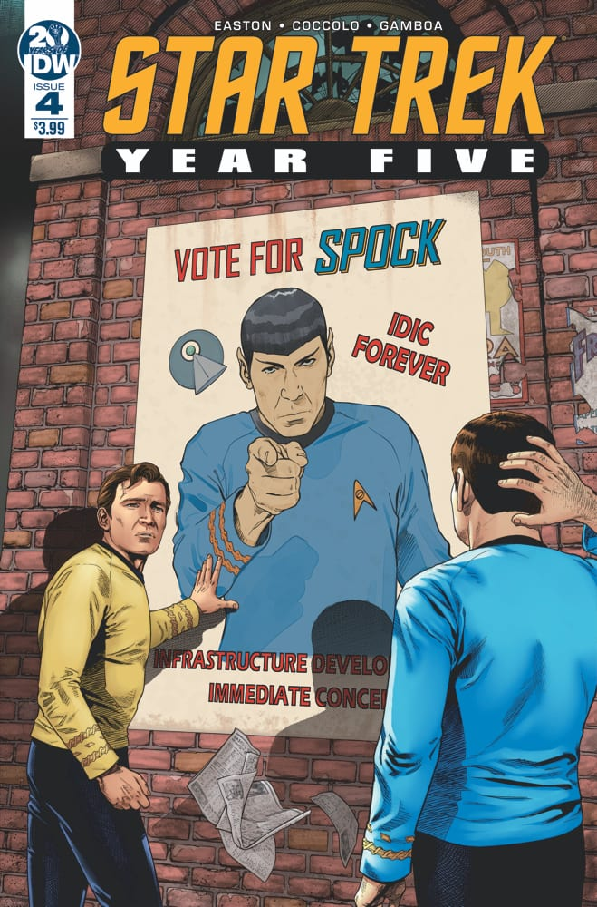 STAR TREK YEAR FIVE #4 Evokes All The Best Original Series Memories