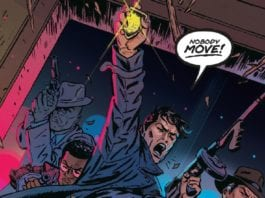 A War On Magic Is Waged In TOMMY GUN WIZARDS #1
