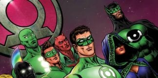 THE GREEN LANTERN #10 cover artwork