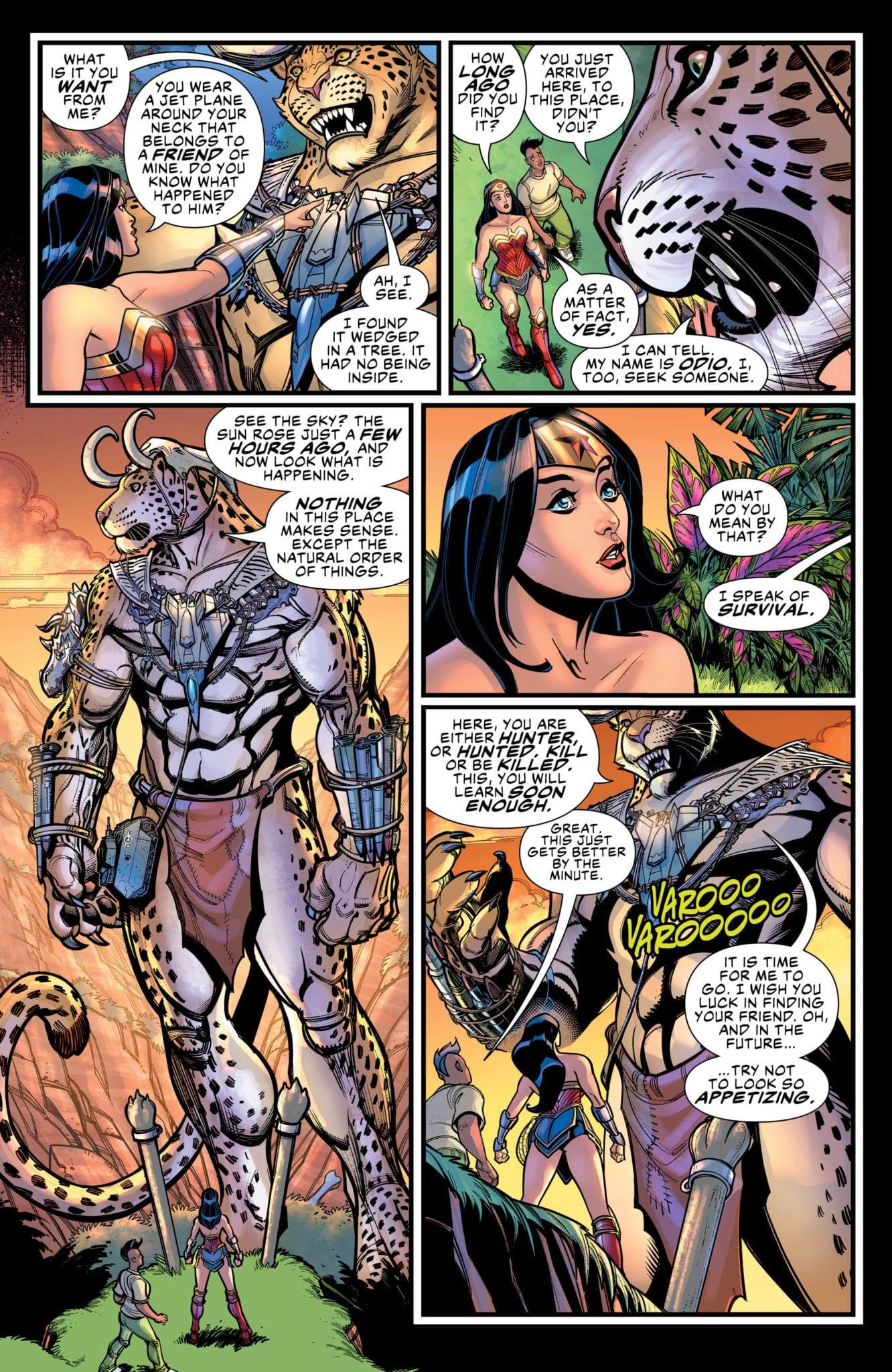 wonder woman come back to me dc comics review