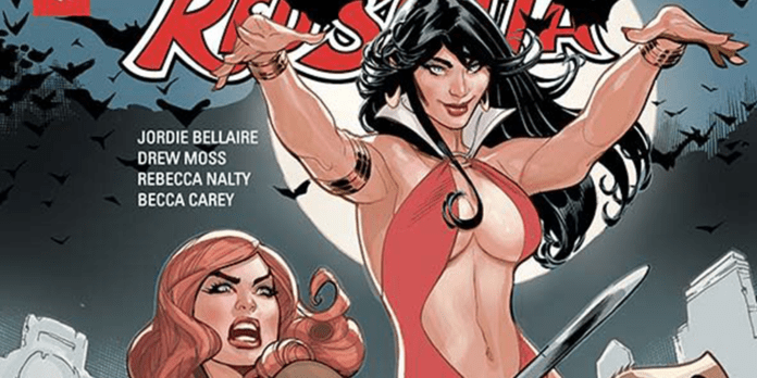 Review: VAMPIRELLA RED SONJA #1 Is The Start Of A Great Relationship 3