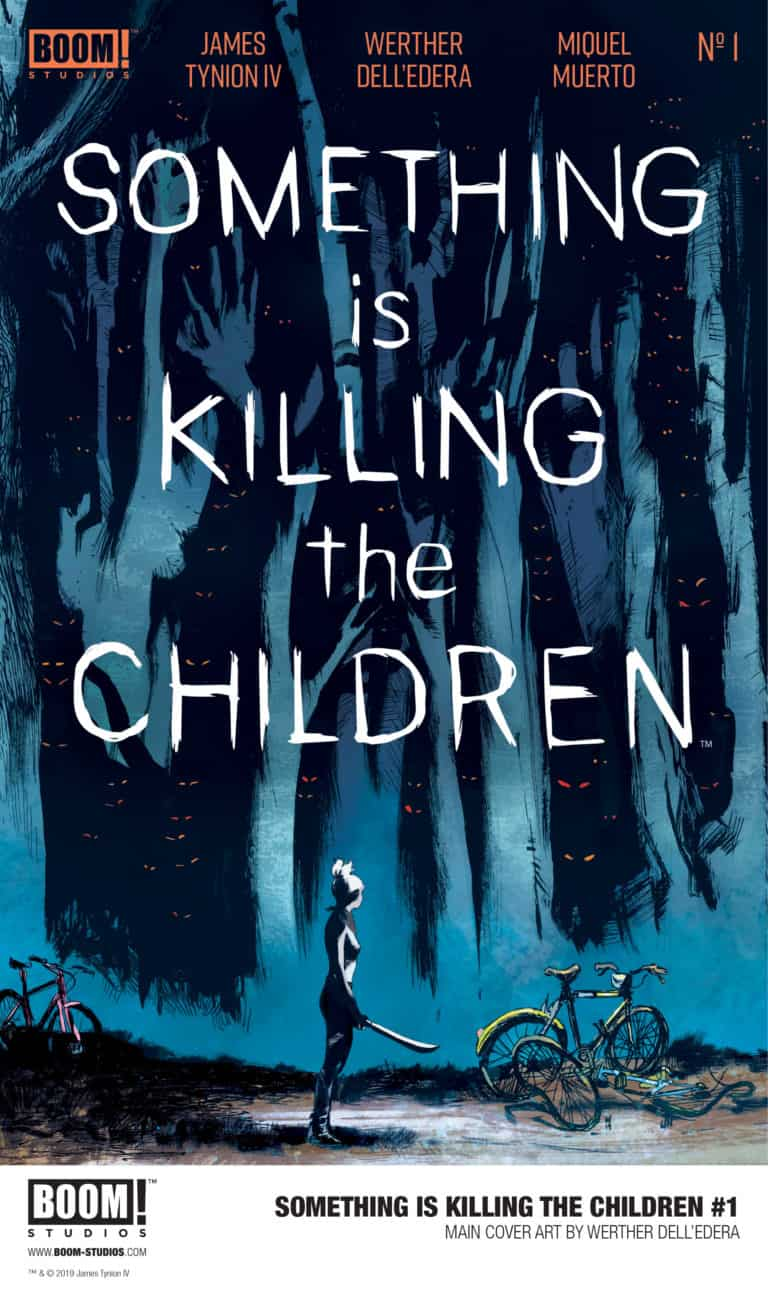 Something is Killing the Children Issue One: Cover by Werner Dell'Edera