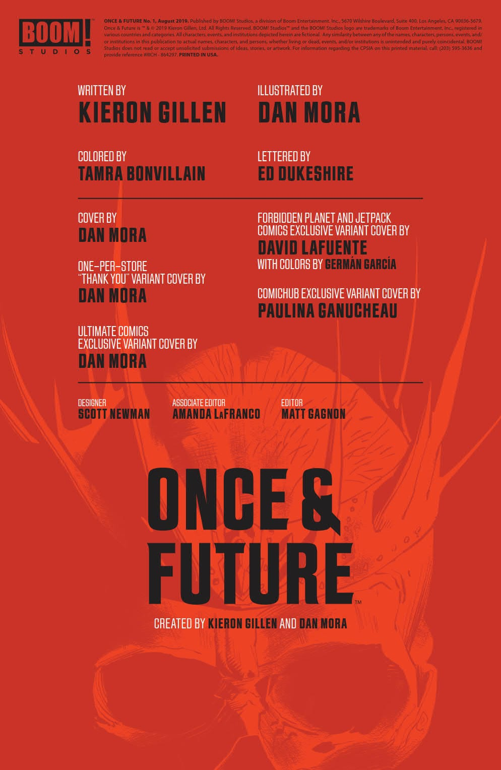An Arthurian Tale Like You've Never Seen in ONCE & FUTURE #1 3