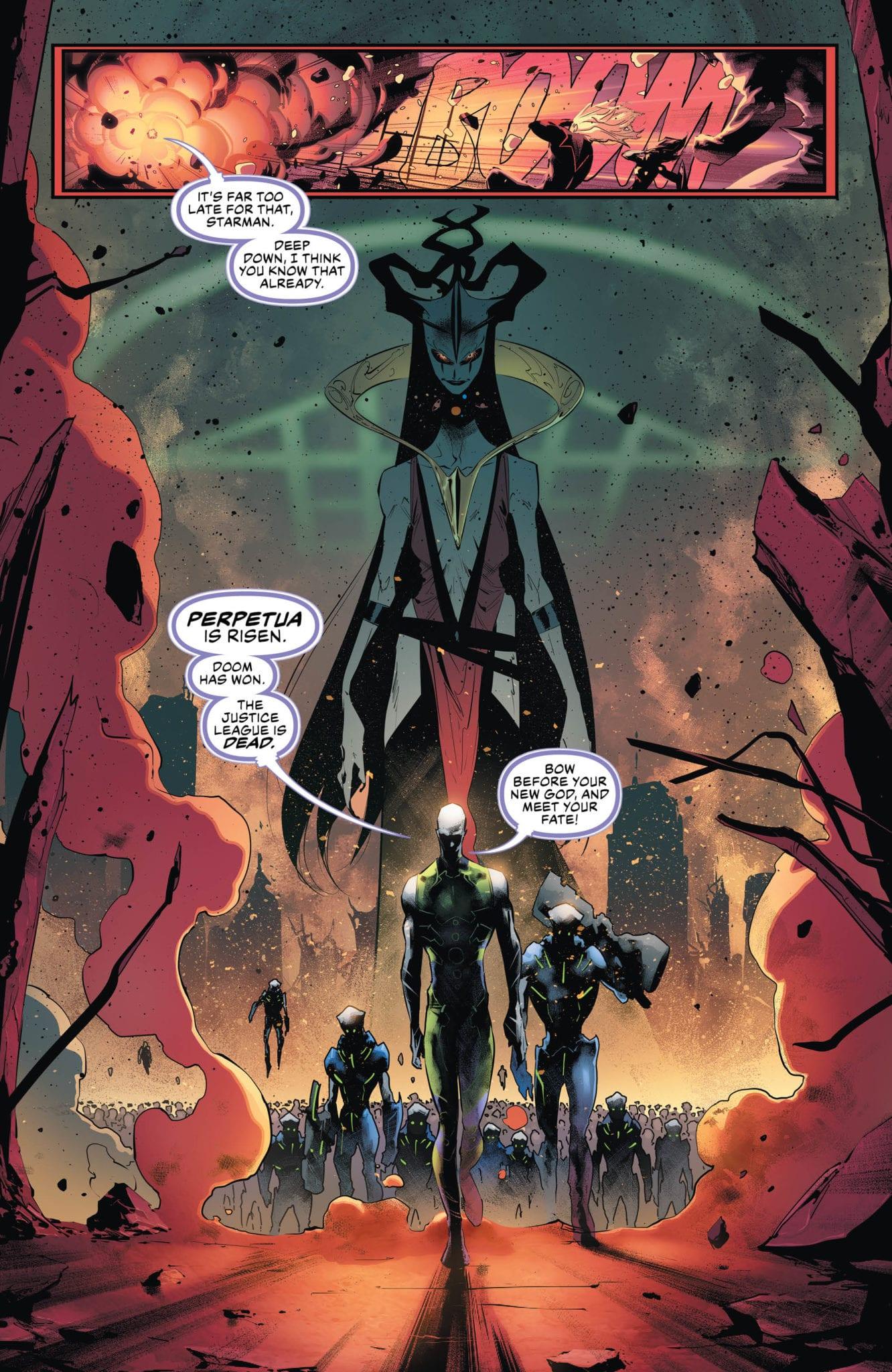 Justice League #30 Page