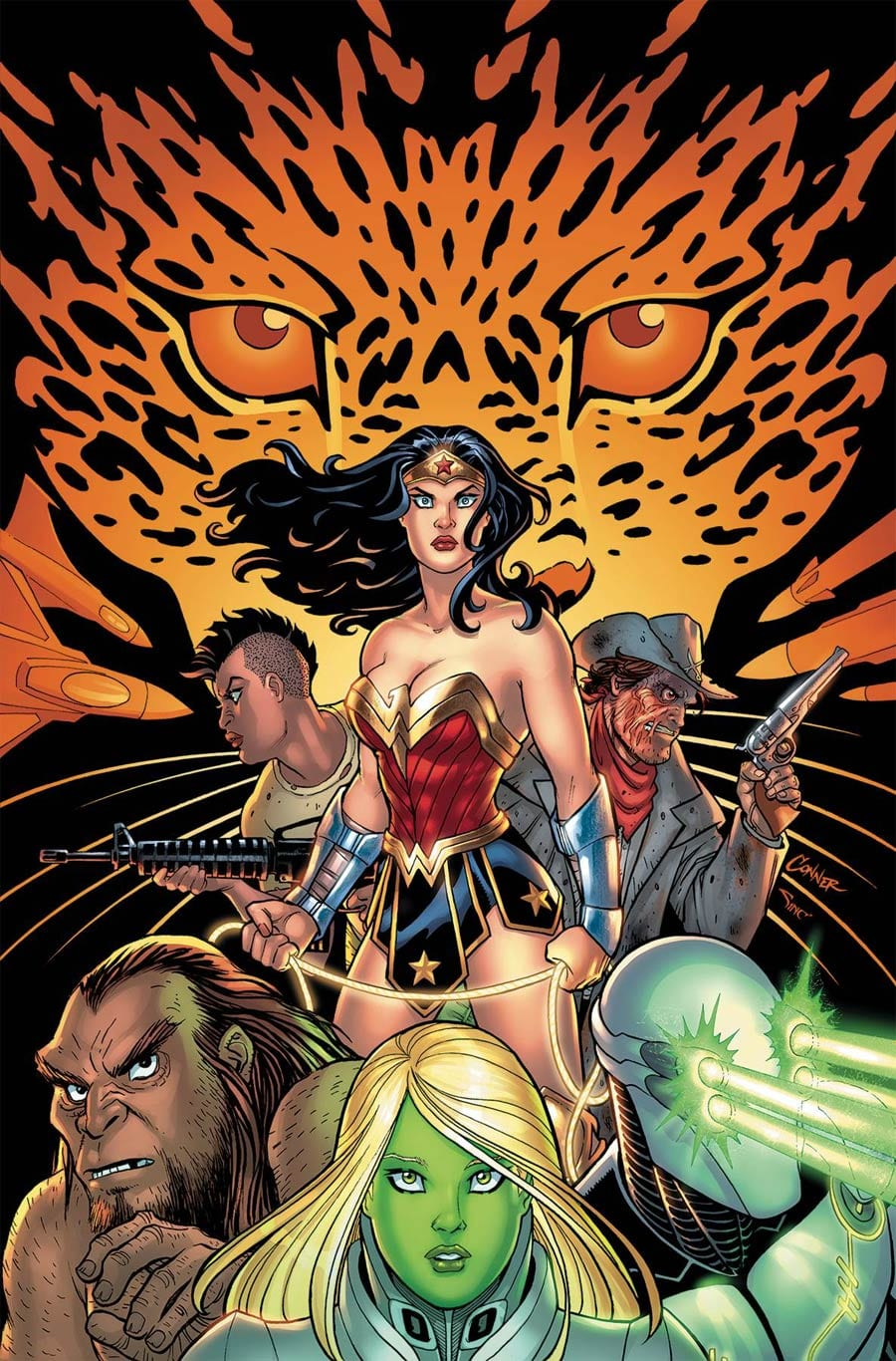 What A Strange World In WONDER WOMAN COME BACK TO ME #2 1