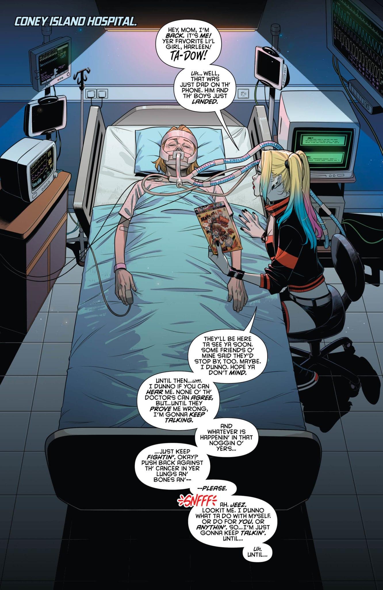DC Comics Exclusive Preview: HARLEY QUINN #64 - Enter Apex Lex! 1
