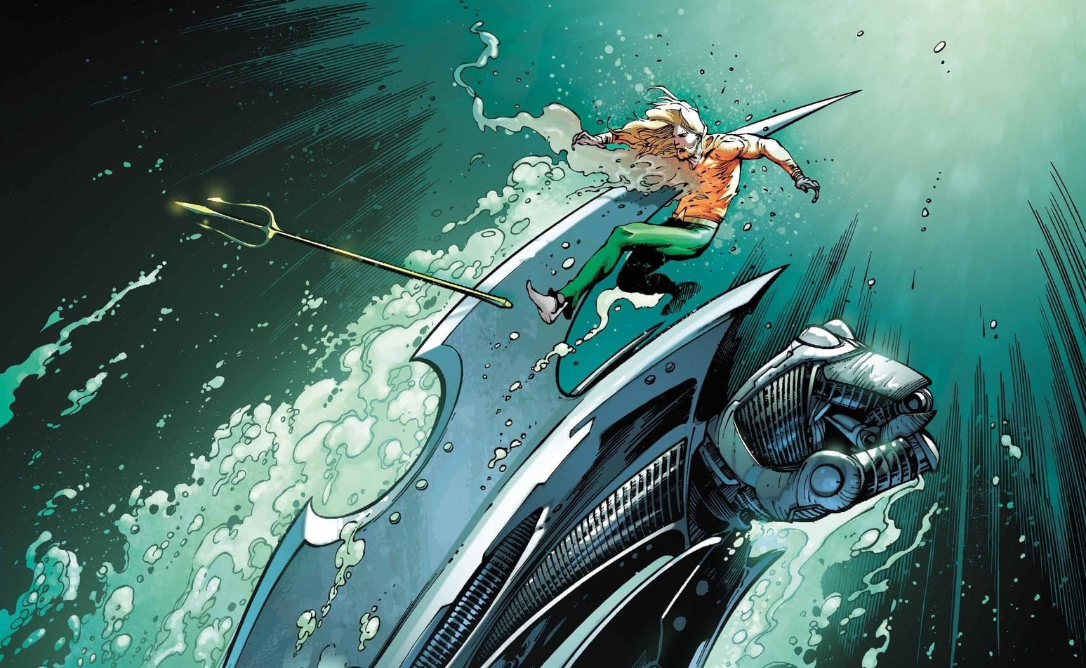 Review: AQUAMAN #51: Aquaman Teams Up With Aqualad, The Son Of Black Manta 1