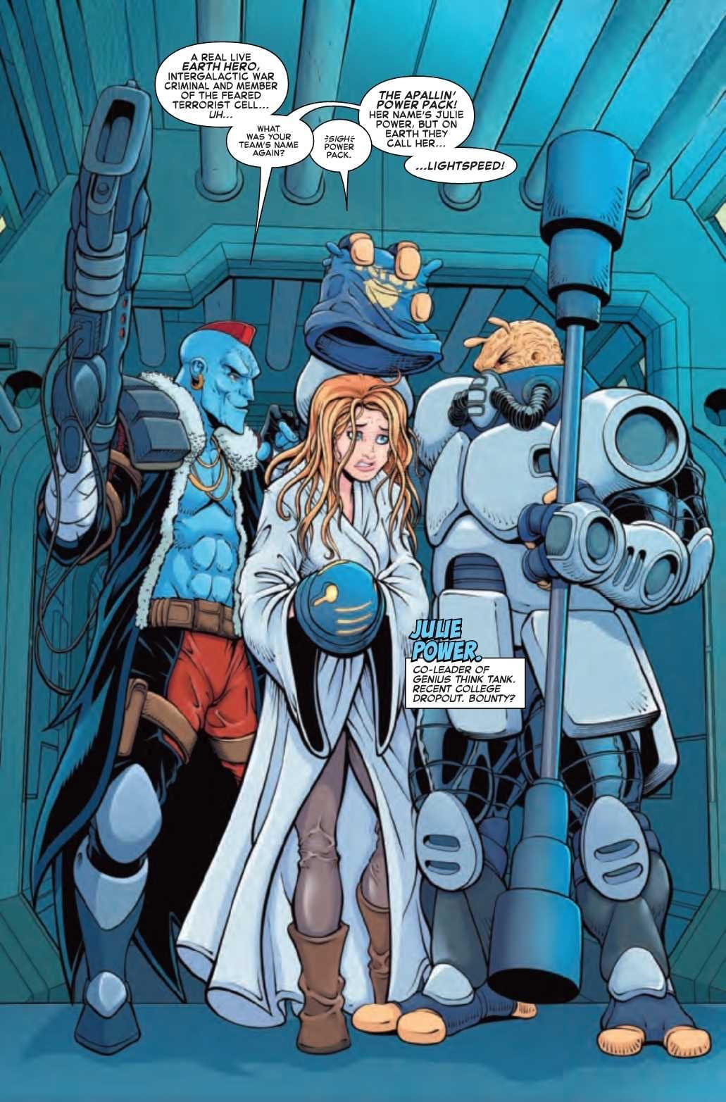 FUTURE FOUNDATION #1 - Powers Siblings Join The Team 2