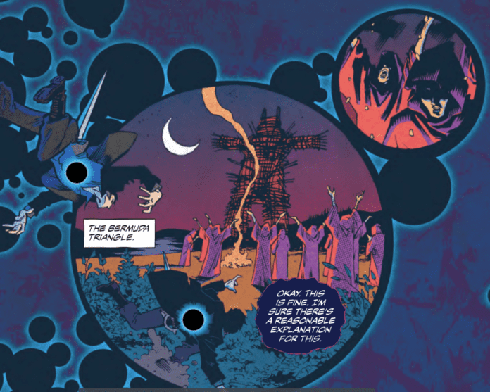 Review: COLLAPSER #2 - Incredible New Powers or Unfortunate New Sickness? 2