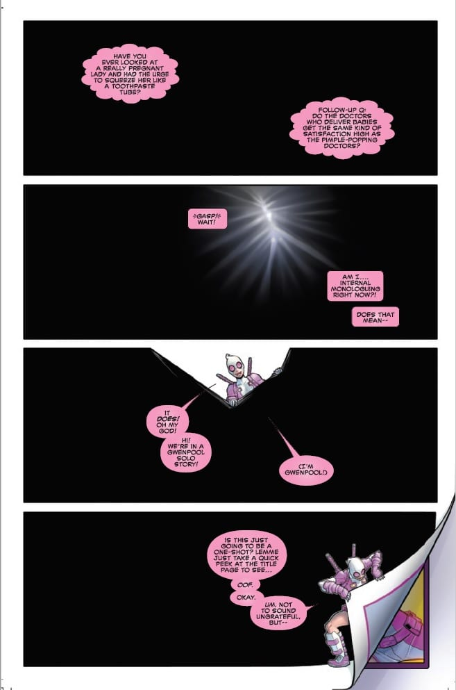 How Gwenpool Plans to Stay Relevant in GWENPOOL STRIKES BACK #1 2