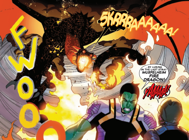 Review: AGENTS OF ATLAS #1 Is A Fire Breathing Blast of Superhero Fun 2