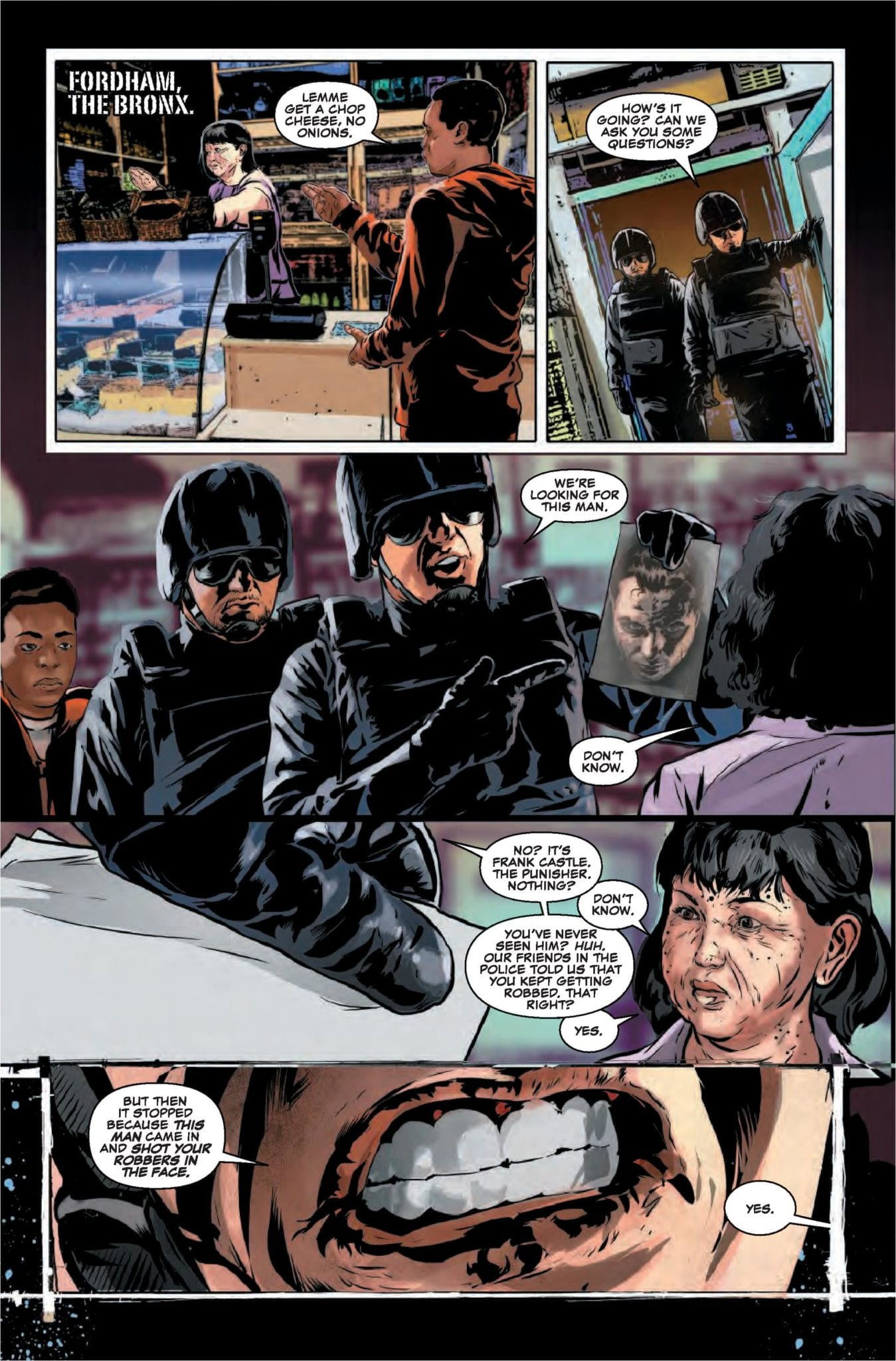 Marvel Comics Exclusive Preview: THE PUNISHER #14 3