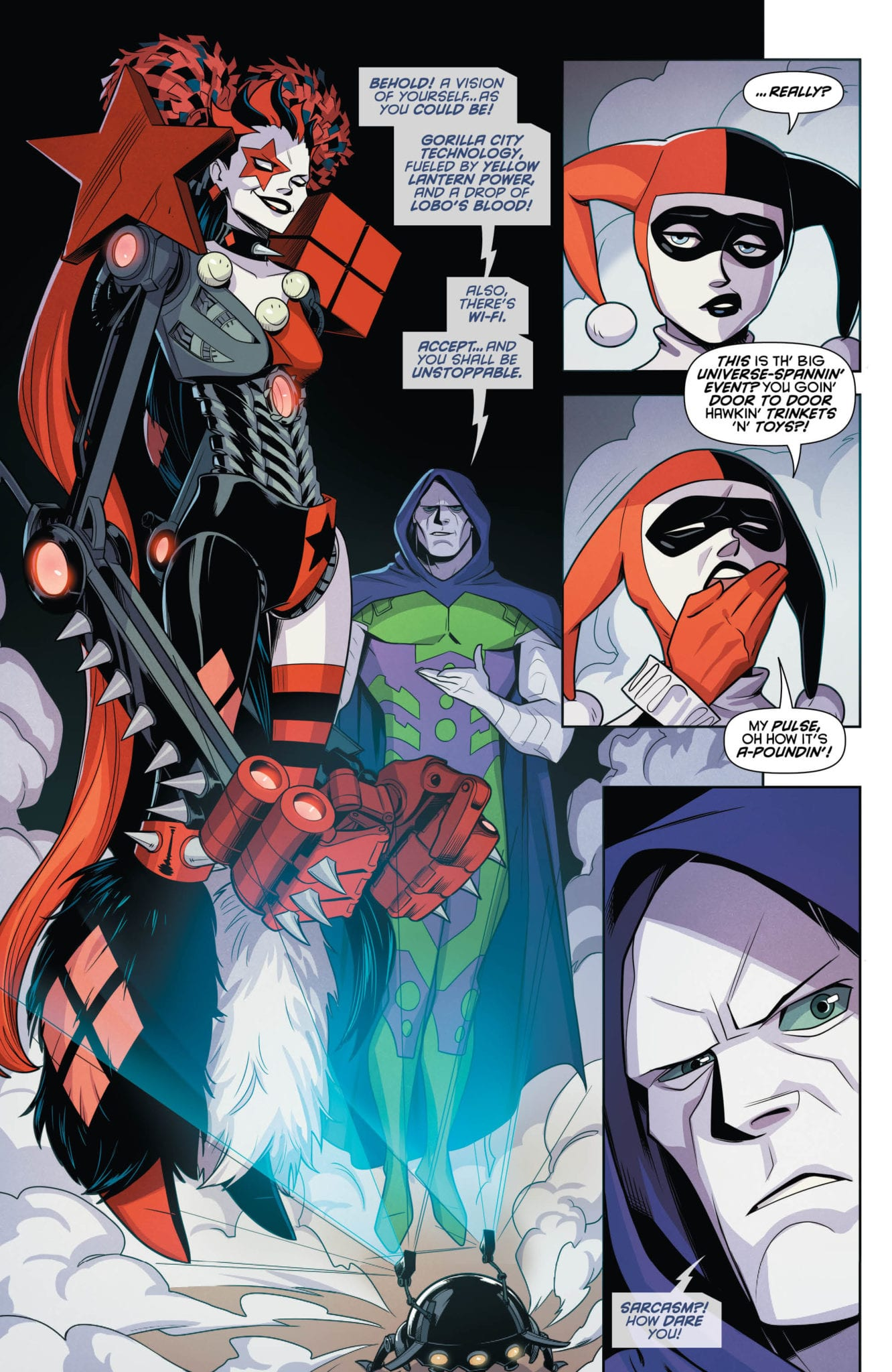 DC Comics Exclusive Preview: HARLEY QUINN #64 - Enter Apex Lex! 3