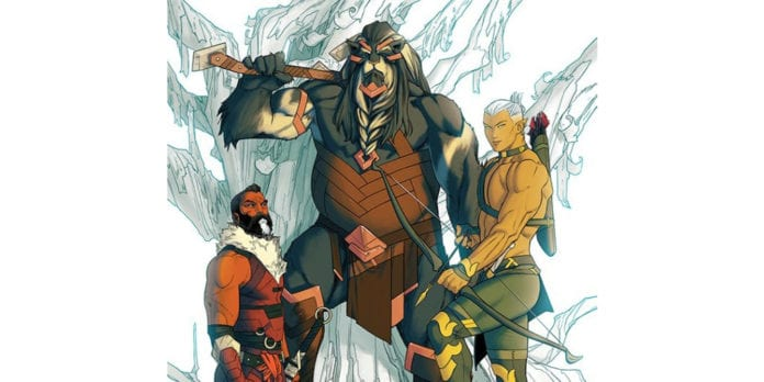 Review: THE WHITE TREES #1 Is A Fantastic New Age Fantasy 4