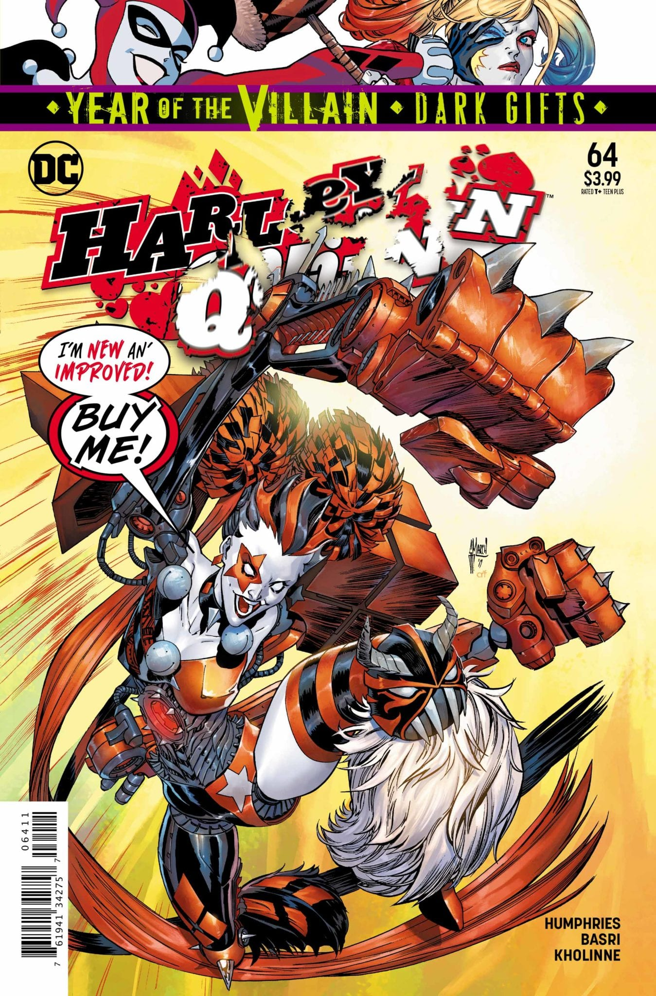 DC Comics Exclusive Preview: HARLEY QUINN #64 - Enter Apex Lex! 6