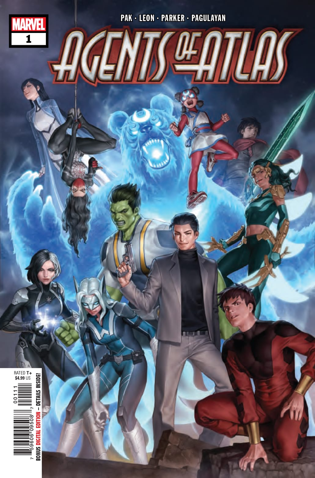 Review: AGENTS OF ATLAS #1 Is A Fire Breathing Blast of Superhero Fun 1