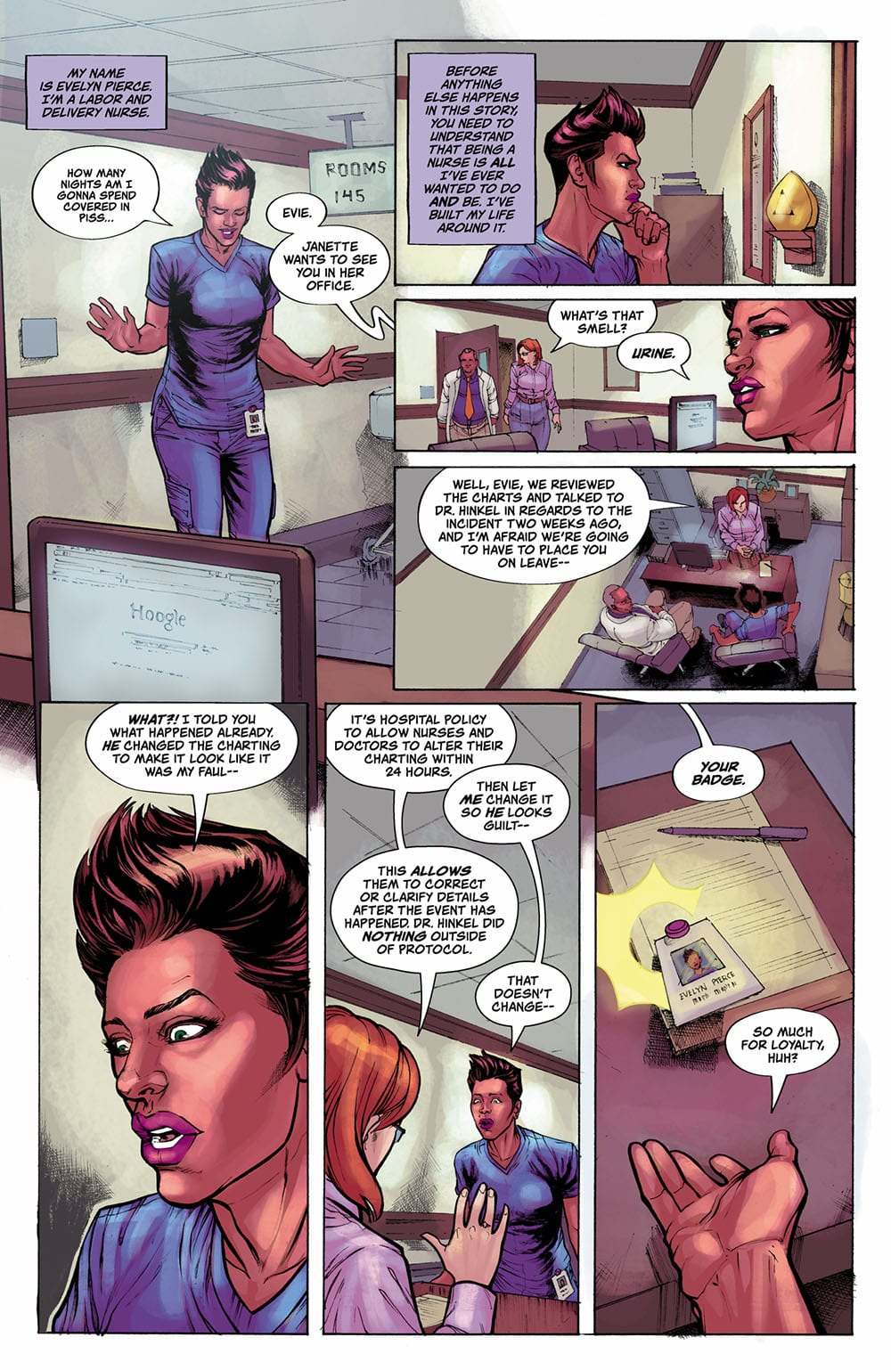 Review: TRIAGE #1 Is Strong & Surreal SciFi via Phillip Sevy 1
