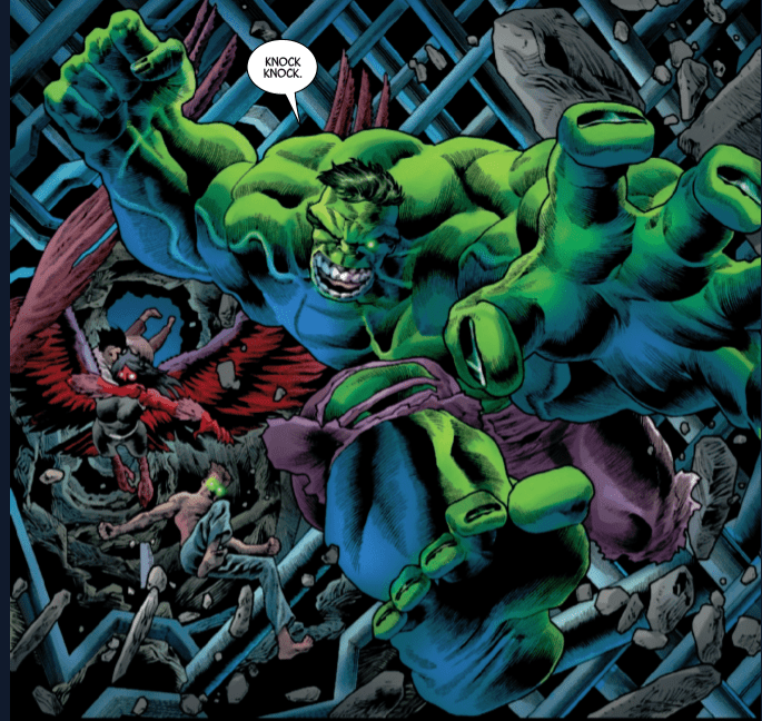 Review: IMMORTAL HULK #22 - The Quentin Tarantino Moment In The Series 5
