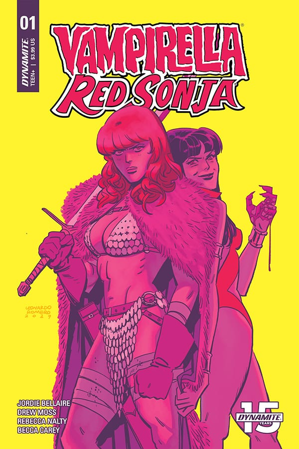 Review: VAMPIRELLA RED SONJA #1 Is The Start Of A Great Relationship 1