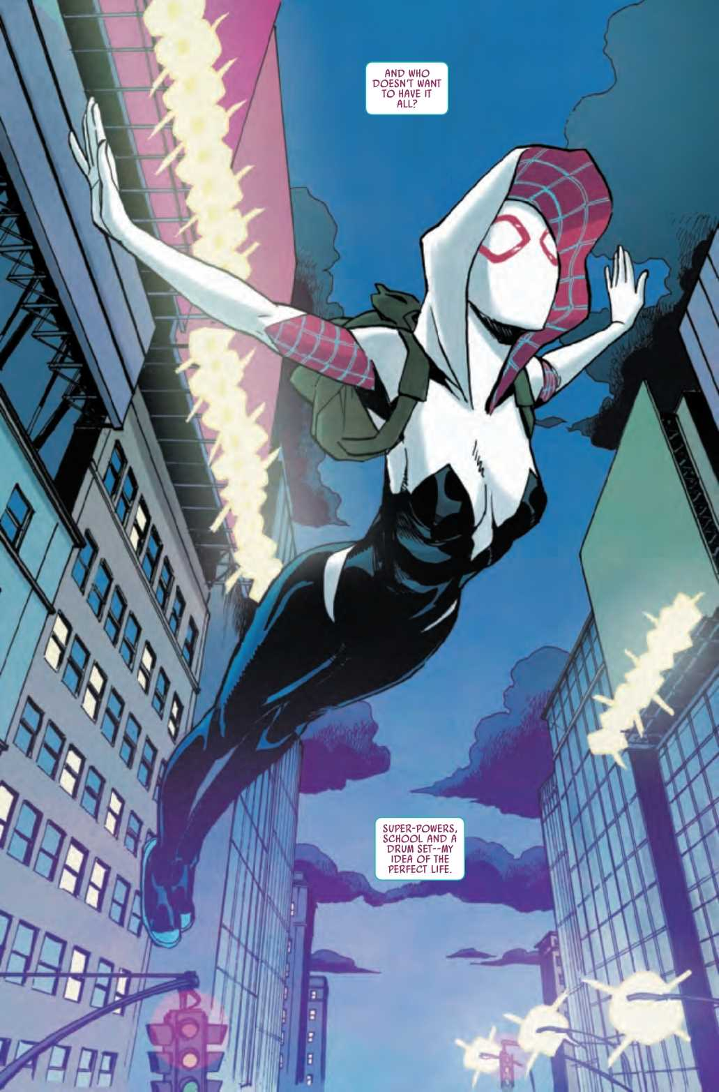 Review: GHOST-SPIDER #1 And Why Marvel Shouldn't Have Renumbered Spider-Gwen 2