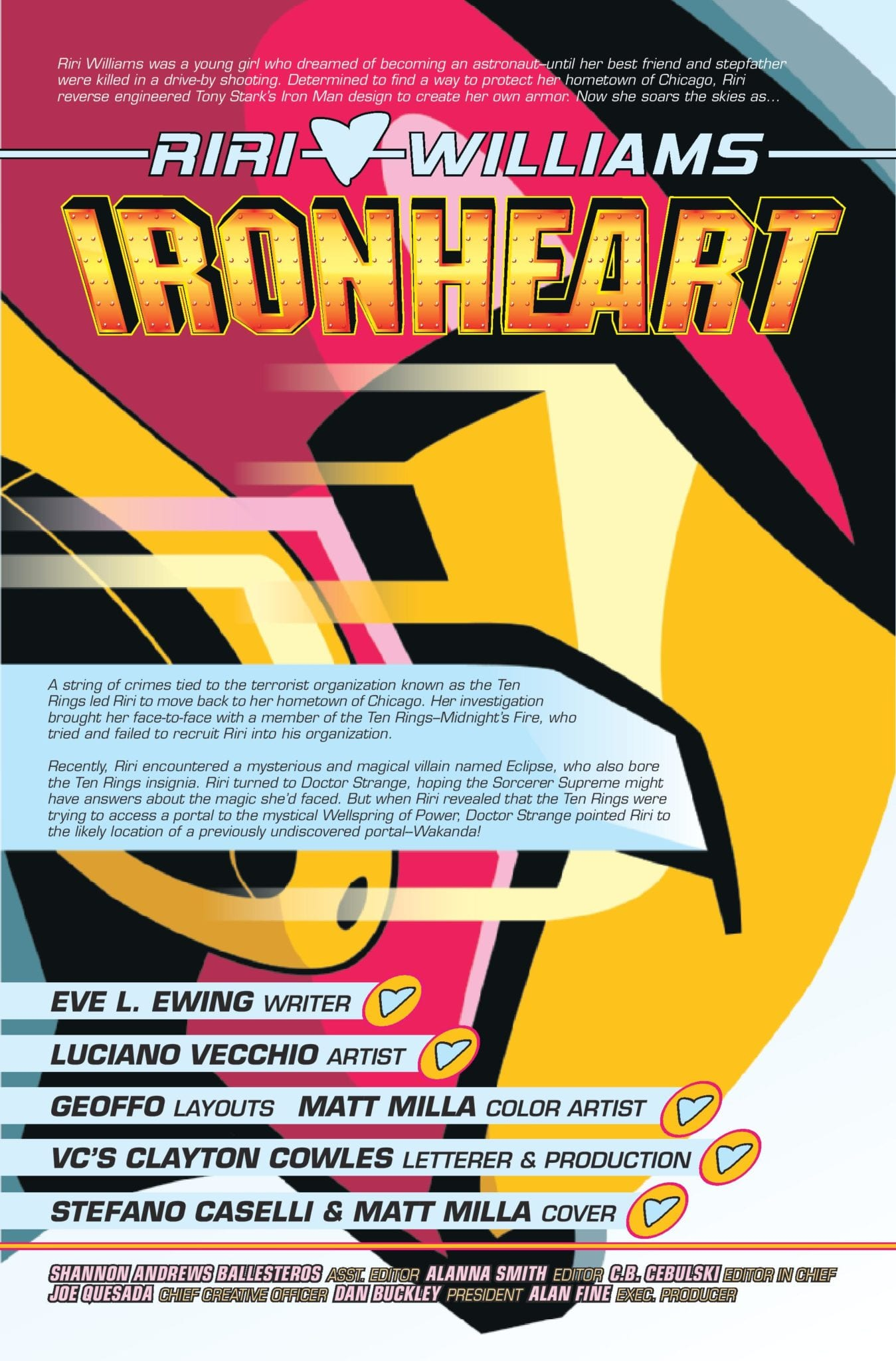 Exclusive Marvel Comics Preview: IRONHEART #9