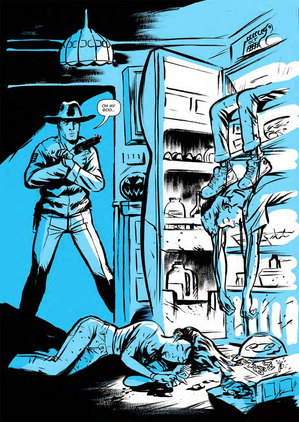 HEADLESS Issue One Page One: Scout Comics