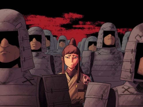 Review: RONIN ISLAND #5: A Test Of Loyalties 1